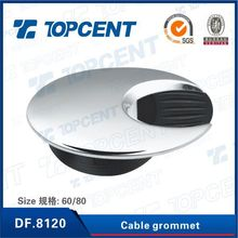 Topcent oval box desk zinc alloy cable grommet for office desk