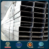 black / galvanized weight of ms rectangular tubes square hollow ms tube
