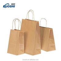 custom printed different types of paper bags