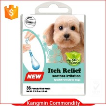 dog ear liquid cotton swaps in box