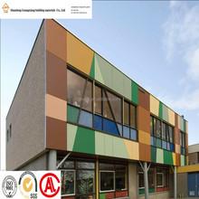 ACP manufacture 4mm exterior decorative wall aluminum plastic composite panel