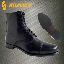 2015 hot sale leather fshionable comfortable design men military ankle boot
