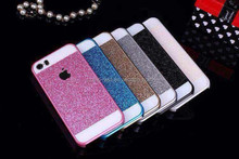 Glitter Powder Series Silicon Leather Mobile Phone Case for iPhone6