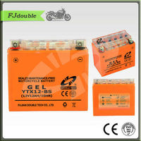 12V12AH Gel motorcycle Battery OEM YTX12-BS