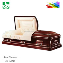 quick delivery high quality paulownia wood funeral casket