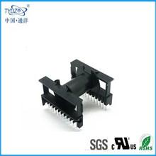 Etd34 7+7 horizontal alta baquelita transformador de frecuencia bobina / fenólico