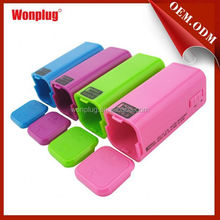 Different Colors Emergency Battery power bank for macbook pro