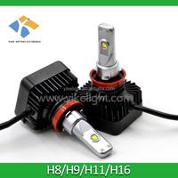 led car headlight bulbs led fog lamp h11 for Chery Tiggo