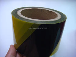 warning tape ,packing use fo rwarn