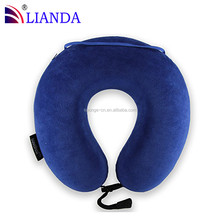 Portable Compressed Container Bag Memory Foam Small Travel Pillow