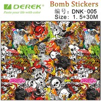 DNK Graffiti art graphic car sticker bomb vinyl wrapping printable film
