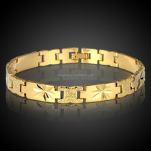 18K Gold All-match Glaze Copper Bracelet