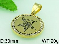 2015 Latest popular quantum energy scalar pendant with stone