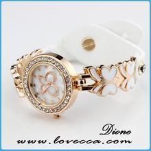 Hot Sale Women Vintage Leather Watch,rhinestone leather watch,teenage fashion rhinestone watches