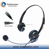 Hot call center noise cancelling telephone headset with RJ11 plug HSM-902NPQDRJ