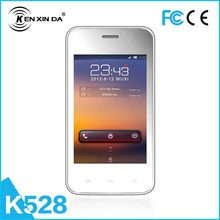 2015 hot sell multi-language 3.5 inch dual sim card smart phone