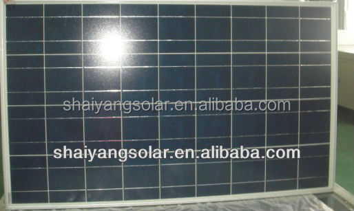12v 100w poly solar panel with best price