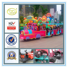 High quality CE certificate kids amusement rides & electric train set for adults