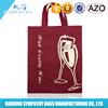 China Wholesale Custom non woven 6 bottle wine tote bag