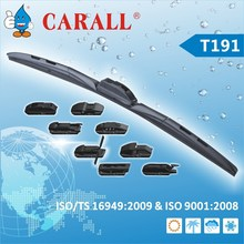 Exclusive New Multi-clip wiper blade with elastic high-carbon steel backbone TS16949 certificated