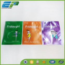 hot selling Plastic face mask packaging bag /Fashion Plastic face mask bag