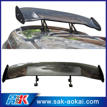 """57"""" GT style carbon fiber tuning car rear spoiler wing"""