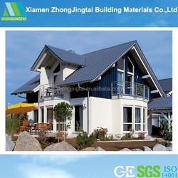 Carport,Hotel,House,Kiosk,Booth,Office,Sentry Box,Guard House,Shop,Villa Use and Sandwich Panel Material prefabricated house