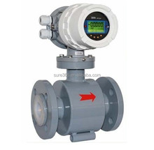magnetic flow meter DIN flange 4-20mA/ pulse output remote type Modbus