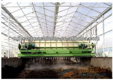 Poultry manure composting machine
