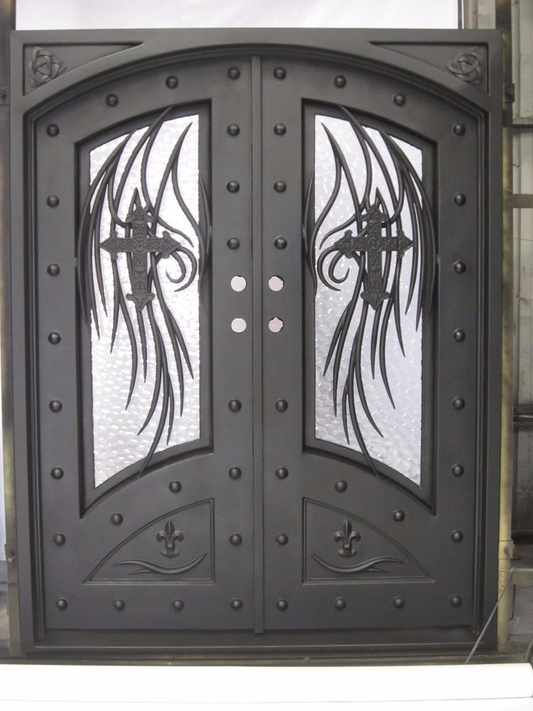 Fotos de dise os de puertas de metal casa dise o for Puertas de metal con diseno