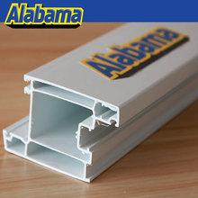 building materials plastic pvc profile/pvc profiles for window and door, upvc window and door profile extruding line