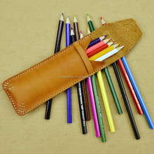 New design pen holder,leather pencil holder,leather small goods things