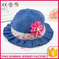 fashion black round top shaped wholesale felt hats for ladies