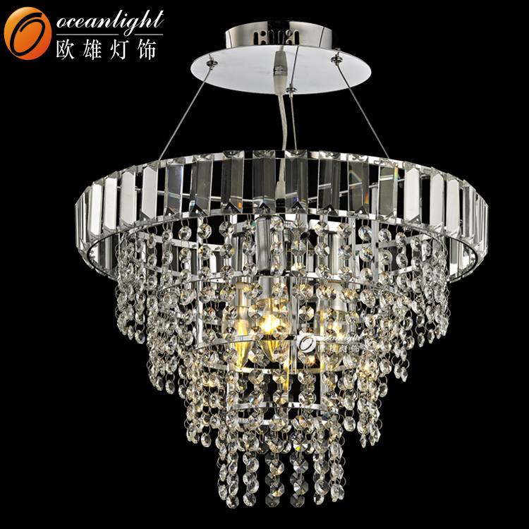 Chinese Style Crystal Hanging Light Chandelier Lamp House Fixture