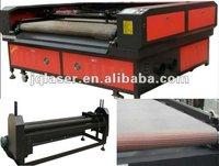 costume/plush/tannery laser cutting machine JQ1810 for manufaturer