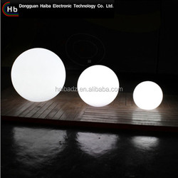 Professional led garden ball light/led ball light outdoor/swimming pool tool big ball led light,remote control color change