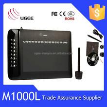 UGEE M1000L digital graphics bank pen digital writing tablet