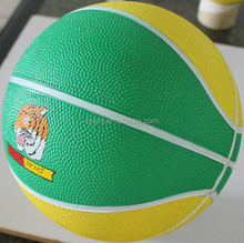 Top grade most popular 2015 newest bouncing rubber basketball