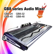 Soundcraft GB8-48 Style Professional Audio 48 Channel digital sound mixer