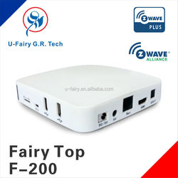 New arrival wireless intellgent network home automation systems Z-wave home gateway with frequency 868.42mhz/908.42mhz