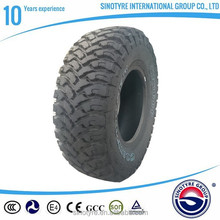 4x4 tyre mud terrain China manufacturers cheap tubeless radial passenger car tyre/tire