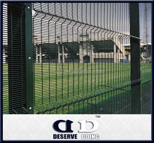 Hebei shijiazhuang high quality galvanized 358 anti climb security fence for garden/farm/airport/prison