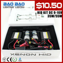 2012 High quality factory slim Xenon HID KIT (provide free laser logo on ballast)---BAOBAO LIGHTING Free shipping