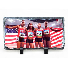 Hot Sale Popular Rectangle Sublimation Photo Rock