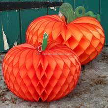 harvest festival honeycomb paper ball table centerpiece decoration