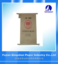 PP block bottom Kraft paper cement flour bag