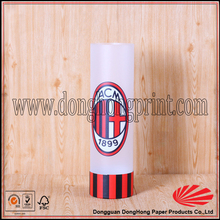 Colorful Silk Screen Plastic Gift Packaging Tube