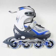 Kids Adjustable In-line Skating Roller Shoes For Junior Player