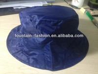 FOLDABLE POLYESTER WITH PA COATING RAIN BUCKET HAT