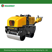walk behind double vibratory road roller